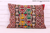Delightful Moroccan rug pillow