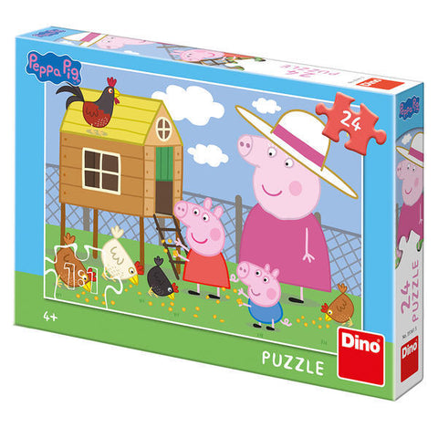 PUZZLE - PEPPA PIG - PUISORII (24 PIESE) - DINO TOYS (351615)