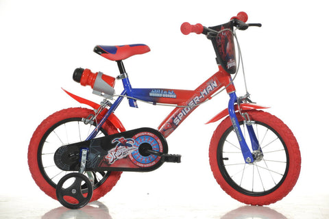 BICICLETA SPIDERMAN 163G SP (163G SP)