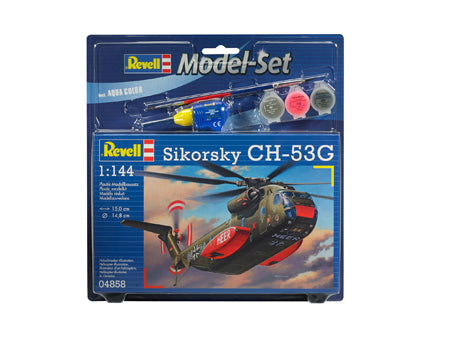 MODEL SET CH 53G HEAVY TRANSPORT HELICOPTER - REVELL (RV64858)
