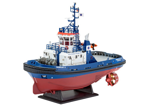 MACHETA VAPOR HARBOUR TUG BOAT FAIRPLAY I,III,X - REVELL 05213 - REVELL