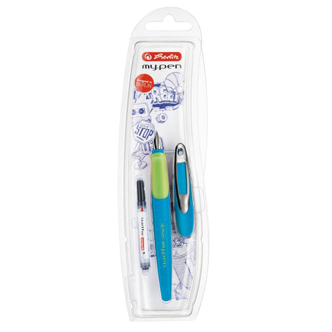 STILOU MY.PEN ALBASTRU BLISTER HERLITZ (HZ10999761)