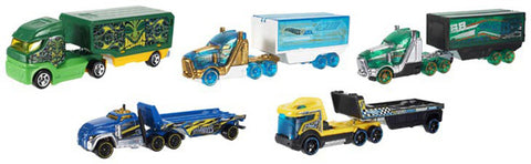 CAMION HOT WHEELS  NEW DIE CAST RIGS - MATTEL (BFM60)