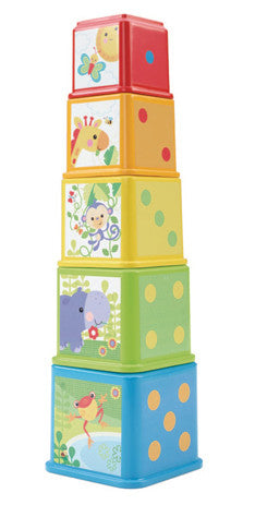 JUCARIE BEBELUSI FISHER-PRICE STACKIN NEST BLOCKS - MATTEL (CDC52)