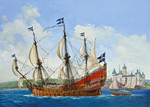 SET MACHETA REVELL - GIFT SET ROYAL SWEDISH WARSHIP VASA - 05719 - REVELL