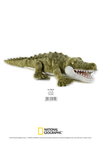 PLUS NATIONAL GEOGRAPHIC CROCODIL 50 CM - VENTURELLI ANGELO (AV770719)