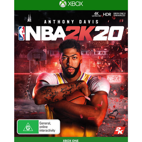 NBA 2K20 - XBOX ONE - XBOX LIVE - MULTILANGUAGE - WORLDWIDE