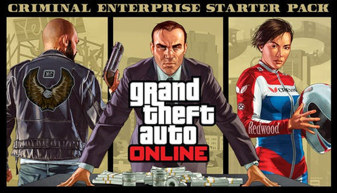 GRAND THEFT AUTO V AND CRIMINAL ENTERPRISE STARTER PACK BUNDLE - ROCKSTAR SOCIAL CLUB - PC - EU