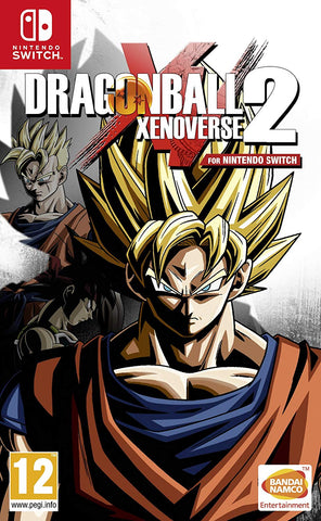 DRAGON BALL XENOVERSE 2 - NINTENDO SWITCH - OFFICIAL WEBSITE - MULTILANGUAGE - EU - PC