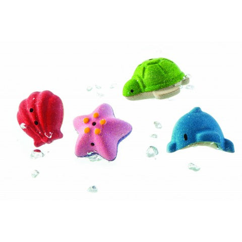 SET DE BAITA CU ANIMALE MARINE - PLAN TOYS (PLAN5658)