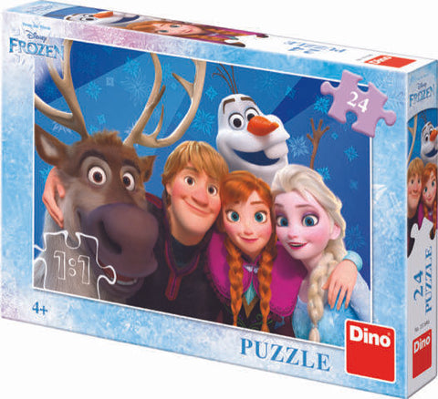 PUZZLE - FROZEN SELFIE (24 PIESE) - DINO TOYS (351646)