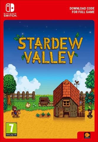 STARDEW VALLEY - NINTENDO SWITCH - OFFICIAL WEBSITE - MULTILANGUAGE - EU - PC