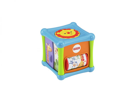 CUB CU ANIMALUTE PRICE ANIMAL ACTIVITY CUBE - FISHER PRICE - MATTEL (BFH80)
