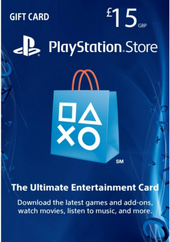 PLAYSTATION NETWORK CARD (PSN) £15 (UK) - PLAYSTATION - EU - MULTILANGUAGE