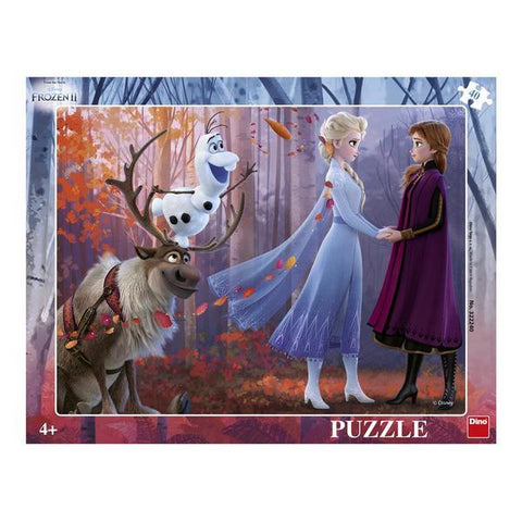 PUZZLE CU RAMA - FROZEN II (40 PIESE) - DINO TOYS (322240)