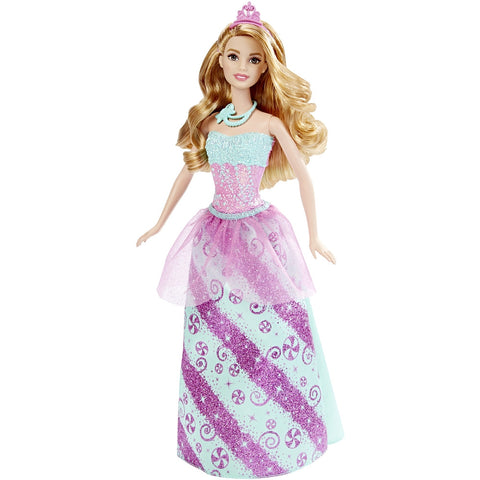 BARBIE PRINCESS CANDY - MATTEL (DHM49-DHM54)