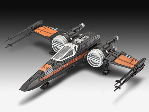 POE-S X-WING FIGHTER BUILT-PLAY WITH SOUND REVELL RV6750 - REVELL