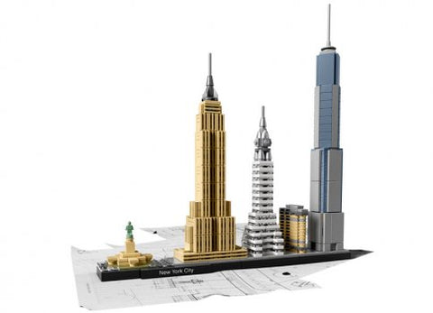 ARCHITECTURE NEW YORK - LEGO (21028)