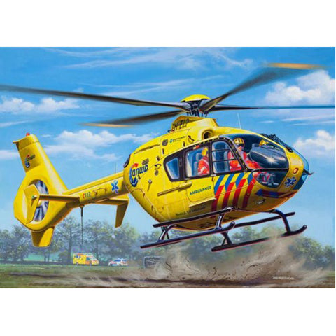 MODEL SET AIRBUS HELI EC135 ANWB - REVELL (RV64939)
