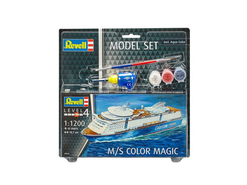 MODEL SET - VAPORUL M/S COLOR MAGIC - RV65818 - REVELL