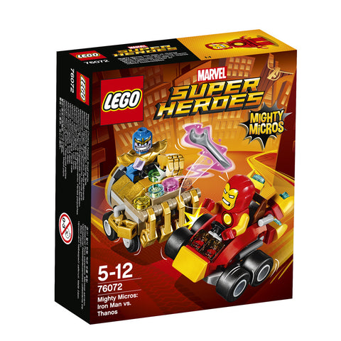 LEGO® SUPER HEROES MIGHTY MICROS: IRON MAN CONTRA THANOS - 76072