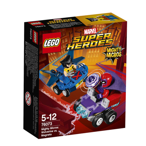 LEGO® SUPER HEROES MIGHTY MICROS: WOLVERINE CONTRA MAGNETO - 76073