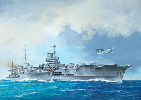 HMS ARK ROYAL & TRIBAL CLASS DESTROYER - REVELL (RV5149) Libelula Vesela