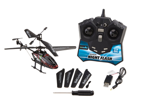 REVELL CONTROL - KIT DE CONSTRUCTIE ELICOPTER NIGHT FLASH - RV24711 - REVELL