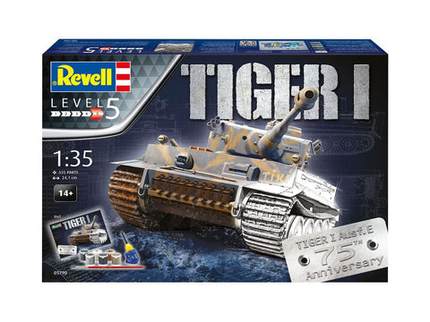 GIFT SET 75 YEARS TIGER I - REVELL (RV5790) Libelula Vesela