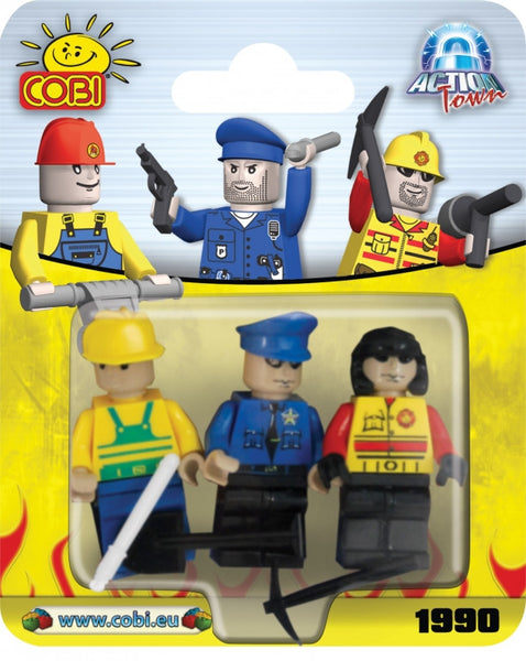 SET 3 FIGURINE - COBI (EP3X1990)