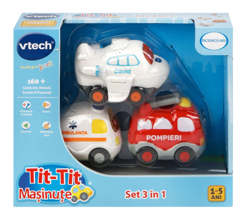 TIT TIT SET MASINI 3 IN 1 - VTECH (VT205863)