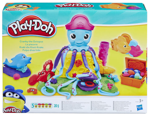 SET PLAY-DOH CARACATITA CRANKY - HASBRO (HBE0800)