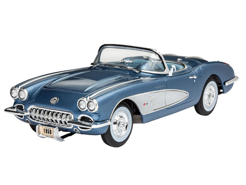 MODEL SET '58 CORVETTE ROADSTER - REVELL (RV67037) Libelula Vesela