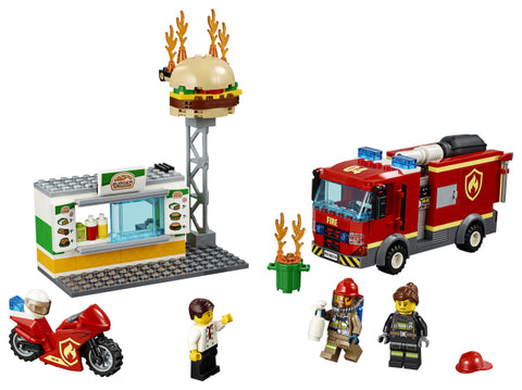 STINGEREA INCENDIULUI DE LA BURGER BAR - LEGO (60214)
