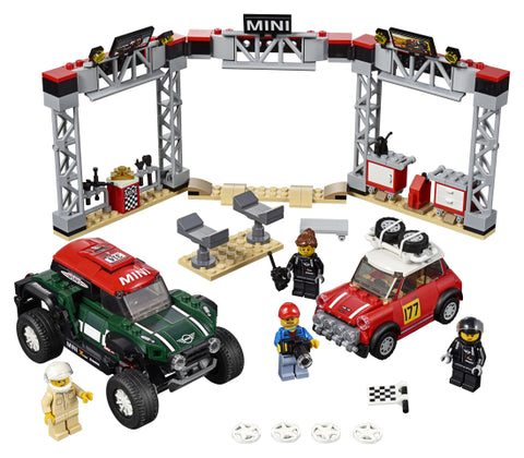 1967 MINI COOPER S RALLY SI AUTOMOBIL SPORT 2018 MINI JOHN COOPER WORKS - LEGO (75894)