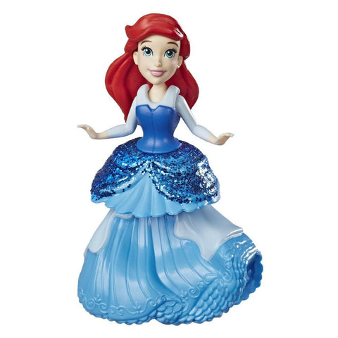 DISNEY PRINCESS ARIEL DOLL WITH ROYAL CLIPS FASHION, ONE-CLIP SKIRT - HASBRO (HBE3049-E3088)