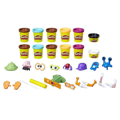 PLAY-DOH POOP TROOP SET WITH 12 CANS - HASBRO (HBE5810)