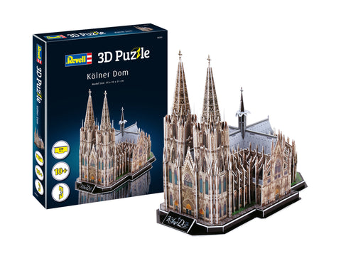 3D PUZZLE COLOGNE CATHEDRAL - REVELL (RV203)