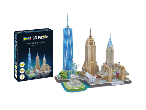 3D PUZZLE NEW YORK SKYLINE - REVELL (RV142)