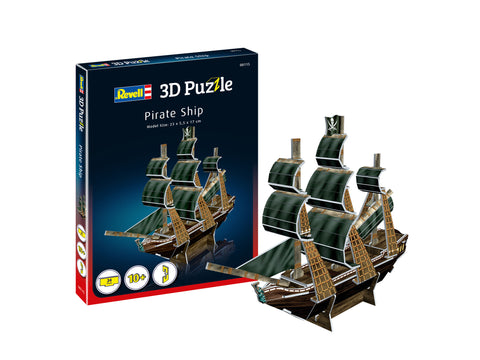 MINI 3D PUZZLE CORABIA PIRATILOR - REVELL (RV115)