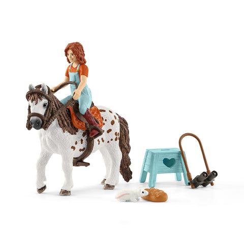 HORSE CLUB MIA & SPOTTY - SCHLEICH (SL42518)