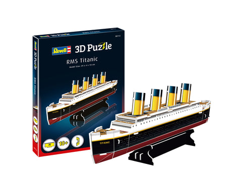 3D PUZZLE RMS TITANIC - REVELL (RV112)