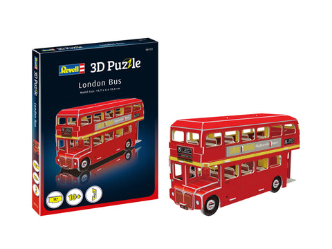 3D PUZZLE LONDON BUS - REVELL (RV113)