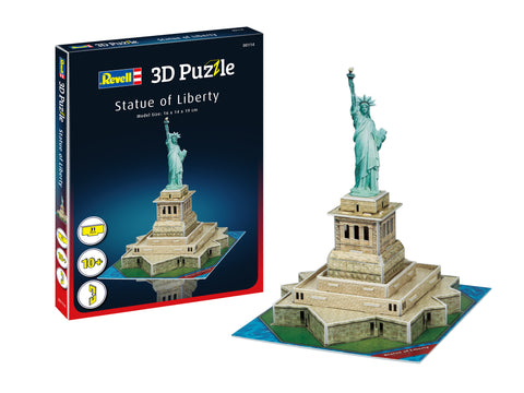 3D PUZZLE STATUE OF LIBERTY - REVELL (RV114)