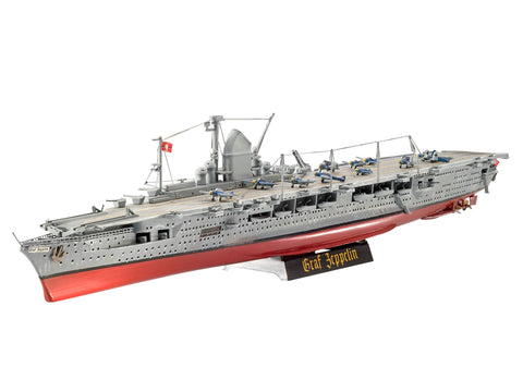 GERMAN AIRCRAFT CARRIER GRAF ZEPPELIN - REVELL (RV5164) Libelula Vesela