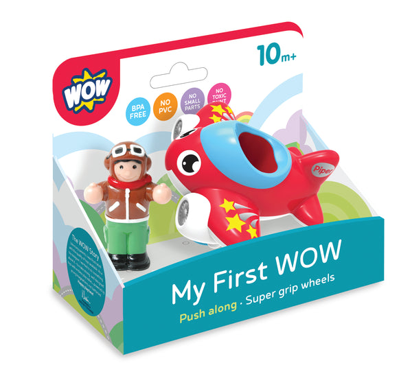 MY FIRST WOW- JET PLANE PIPER - WOW TOYS (W10411)