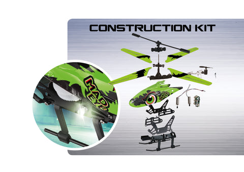 "RC CONSTRUCTION KIT - HELICOPTER ""MADEYE"" GLOW IN THE DARK - REVELL (RV24716) Libelula Vesela"