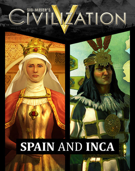 SID MEIER'S CIVLIZATION V - DOUBLE CIVILIZATION AND SCENARIO PACK: SPAIN AND INCA (DLC) - STEAM - PC - EU