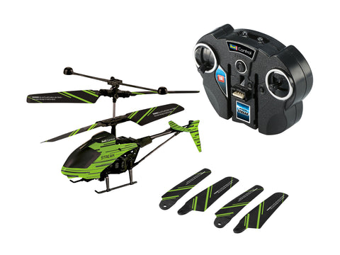 "RC HELICOPTER GLOW IN THE DARK ""STREAK"" - REVELL (RV23829)"