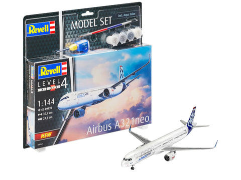 MODEL SET AIRBUS A321 NEO - REVELL (RV64952)